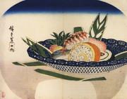 Hiroshige_bowl_of_sushi_2